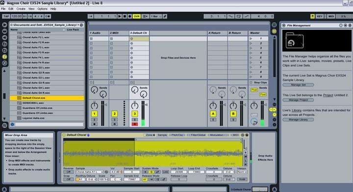 Ableton Live: Sampler - The MIDI Tab