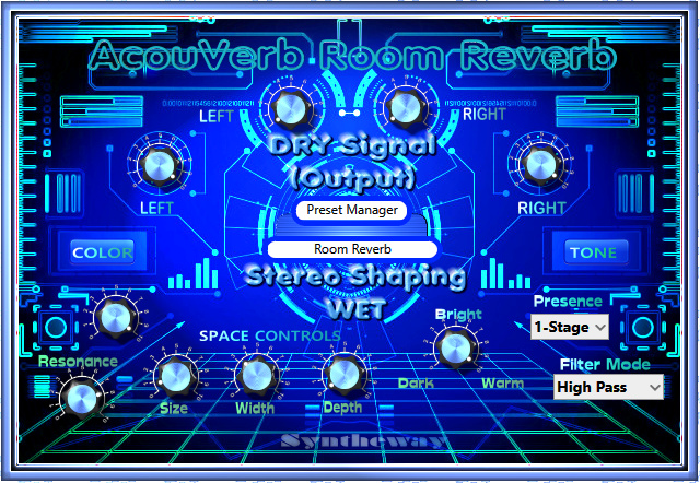 Windows 7 AcouVerb Reverb VST VST3 Audio Unit 3.0 full