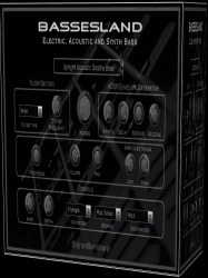Bassesland VST VST3 Audio Unit: Virtual Electric, Acoustic and Synth