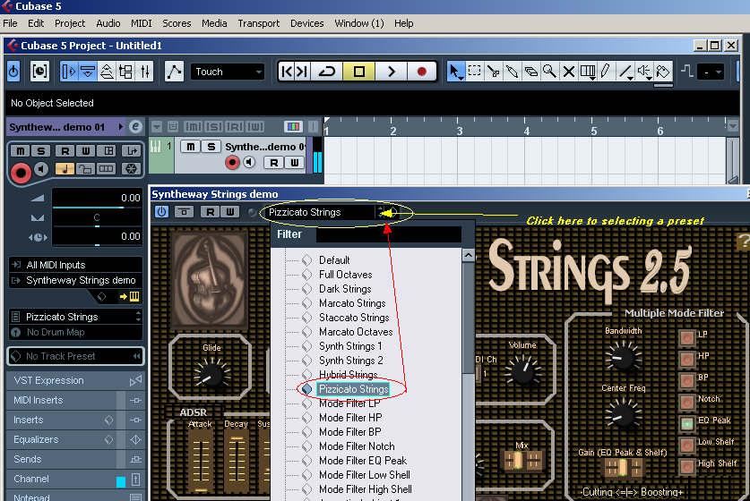 Steinberg Cubase: Syntheway VST / VST3 Instruments, Presets