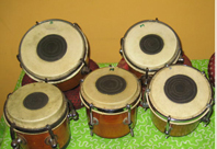 Dukki Tarang is a Indian ethnic percussion instrument, featuring little drums. They can get a wide range of interesting sounds.