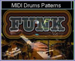 Free Funk MIDI Drums Patterns - * mid files / Drum Kit MIDI
