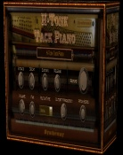 H-Tonk is a Tack Piano, Western Saloon Piano and Jangle Honky Tonk Piano in VST VST3 Audio Unit 32/64 bit Plugin format for Windows and Mac