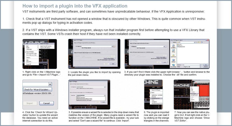 SM Pro Audio VFX Software for Intel Mac OS X  Running VST Plug-ins