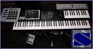 There are lots of things that MIDI makes possible, and many kinds of MIDI products available to help you make music. When you are ready to start making music with MIDI, we recommend you visit a MIDI specialist to determine the right products for you. Here are just some of the products that you may want to consider: Keyboards and Sound Modules Practically every musical keyboard sold today has MIDI connections... everything from the $100 portables to $300,000 digital grand pianos. Wind Controllers, Guitars, and More You don't have to be a keyboard (piano) player to benefit from MIDI. There are specially made MIDI wind controllers, MIDI guitars, and more. Personal Computers Practically every computer made today comes with the ability to play MIDI files, and can connect to other MIDI gear with a simple PC-to-MIDI connector available as an accessory. Professionals and amateurs alike can compose, arrange, and record original music, or use the computer to learn about music or how to play an instrument.