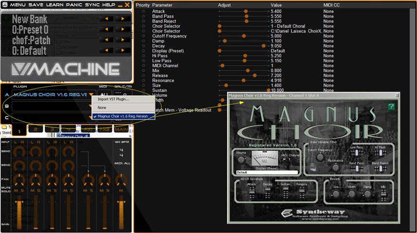 SM Pro Audio VFX Software for Intel Mac OS X and Magnus Choir dll