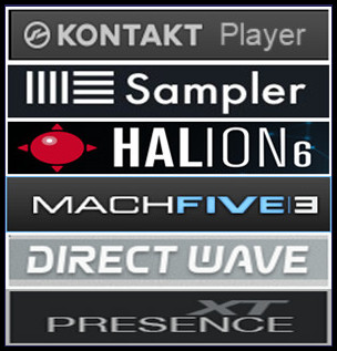 The KONTAKT sample library version available in .nki format can be used on Native Instruments KONTAKT full version v2.0 or above on Windows and macOS (Free Kontakt Player only will load this Library for 15 minutes in demo mode). Also is compatible with Ableton Sampler (Live Suite only, not Intro or Standard), Steinberg HALion on Windows and macOS as well as in Image-Line DirectWave Player for Windows.