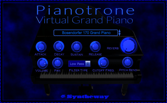 Realistic Virtual Piano for Mac OS X and macOS Sierra is available as Sampler with internal Sample Library made specially for Mac users (Mac OS X 10.6 Intel or later) in order to use it as .component AU (Audio Unit) and / or .vst format (Cubase for Mac). Both versions are compiled in Universal Binary format, so they are compatible and runs natively on Intel-manufactured IA-32 (Intel Architecture, 32-bit) or Intel 64-based Macintosh computers.