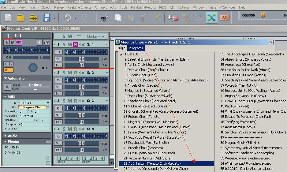 Click Image to Enlarge - Selecting_Presets_Magnus_Choir_In_Samplitude_Music_Studio_2.jpg