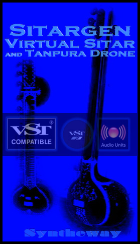 Sitargen Virtual Acoustic and Electric Sitar plus Tanpura