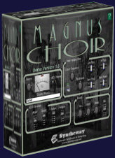 Magnus Choir is a virtual instrument plug-in which can be used to create natural and synthetic choirs, using a combination of synthesis and sampling. The male and female choruses combine to form a mixed chorus, featuring the classic SATB (Soprano, Alto, Tenor, Bass) structure: women sing Soprano and Alto, while men sing Tenor and Bass. In music, SATB is an initialism for soprano, alto, tenor, bass, defining the voices required by a chorus or choir to perform a particular musical work. Pieces written for SATB, the commonest combination and that used by most hymn tunes, can be sung by choruses of mixed genders, by choirs of men and boys, or by four soloists. Magnus Choir is a virtual instrument plug-in which can be used to create natural and synthetic choirs, using a combination of synthesis and sampling. The male and female choruses combine to form a mixed chorus, featuring the classic SATB (Soprano, Alto, Tenor, Bass) structure: women sing Soprano and Alto, while men sing Tenor and Bass. In music, SATB is an initialism for soprano, alto, tenor, bass, defining the voices required by a chorus or choir to perform a particular musical work. Pieces written for SATB, the commonest combination and that used by most hymn tunes, can be sung by choruses of mixed genders, by choirs of men and boys, or by four soloists. no serial, crack, keygen, warez, full, fully, registered
