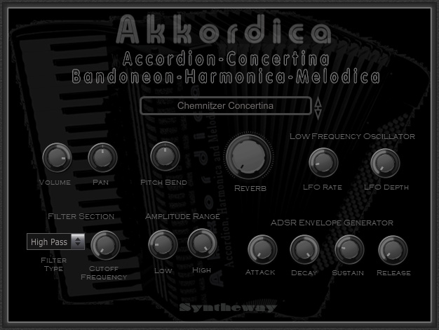 Windows 7 Akkordica Virtual Accordion VSTi 1.0 full