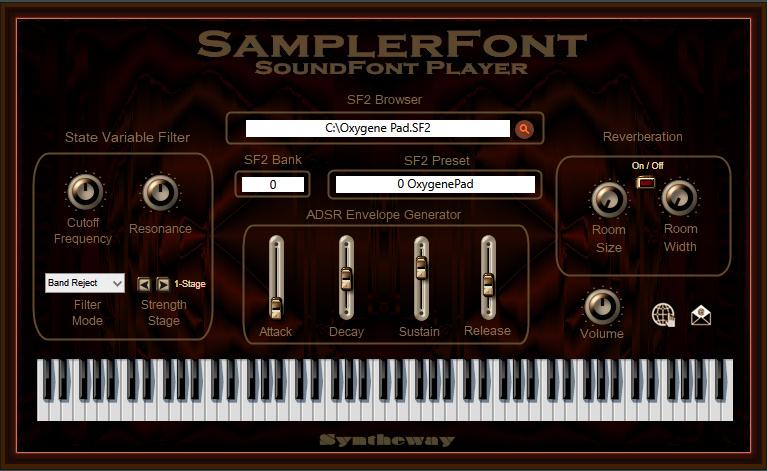 SamplerFont SoundFont Player VST VST3 AU 3.0 full