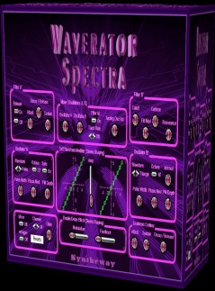 Waverator Spectra is a virtual synthesizer to create complex pads, leads, atmospheric textures, ambient soundscapes and sound effects. Features a collection of 80 presets suitable for many genres and styles of music and flexibility to custom design over a diverse sonic palette. Available as plugin in VST 32 bit and 64 bit and VST3 64 bit versions for Windows as well as in Audio Unit for macOS.