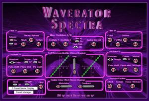Waverator Spectra VST VST3 Audio Unit: Virtual Synthesizer